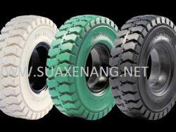 Tháo lắp lốp xe nâng đúng cách, nhanh, an toàn
