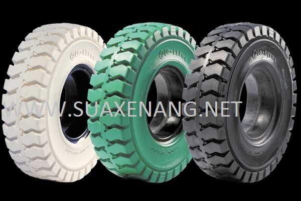 Tháo lắp lốp xe nâng đúng quy trình
