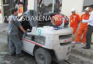 Bảo dưỡng và sửa chữa xe nâng hàng