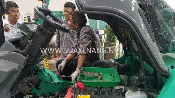 Quy trình bảo dưỡng và sửa  chữa xe nâng