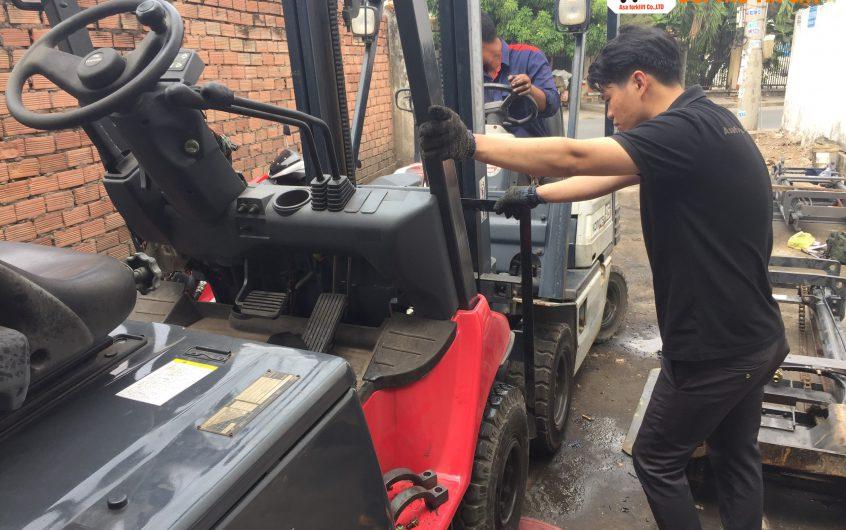 Sửa chữa xe nâng điện tại TP. Hồ Chí Minh