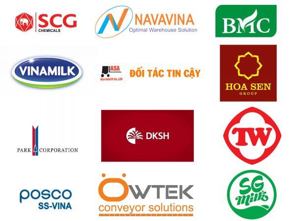 Những đối tác đã hợp tác với công ty xe nâng Asa