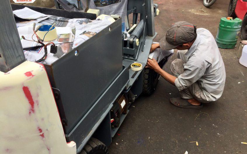 Sửa xe nâng giá rẻ tại Quận gò vấp Tp. HCM