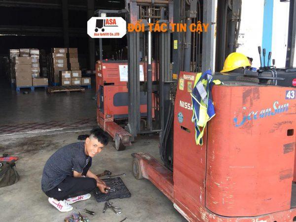 Sửa chữa xe nâng quận gò vấp uy tín, nhanh, tốt, giá rẻ