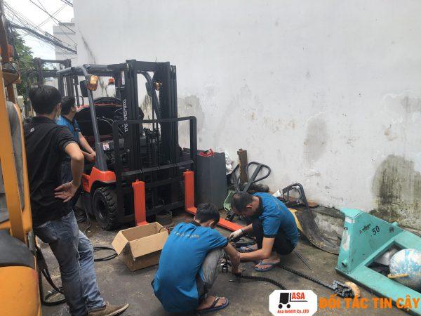 Sửa chữa xe nâng tại Biên Hòa Đồng Nai giá rẻ