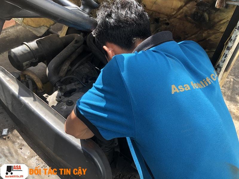 Nhân Viên Kỹ Thuật ASA sửa chữa nhiệt tình