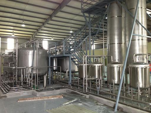 Sản xuất nước cất bằng phương pháp lọc công nghiệp