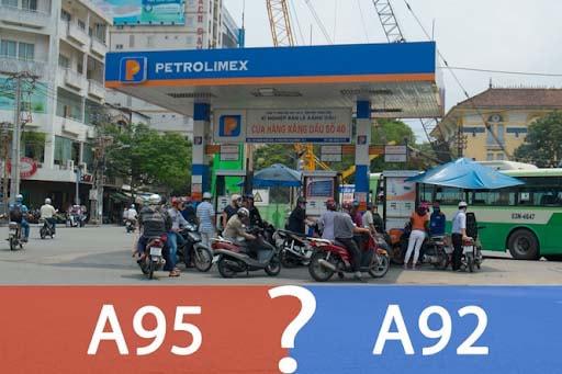 Xăng tốt hơn là loại xăng sử dụng phù hợp hơn với loại động cơ mà xe sử dụng